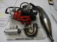 Polini 49cc water colled engine question   Large Scale RC Forums
